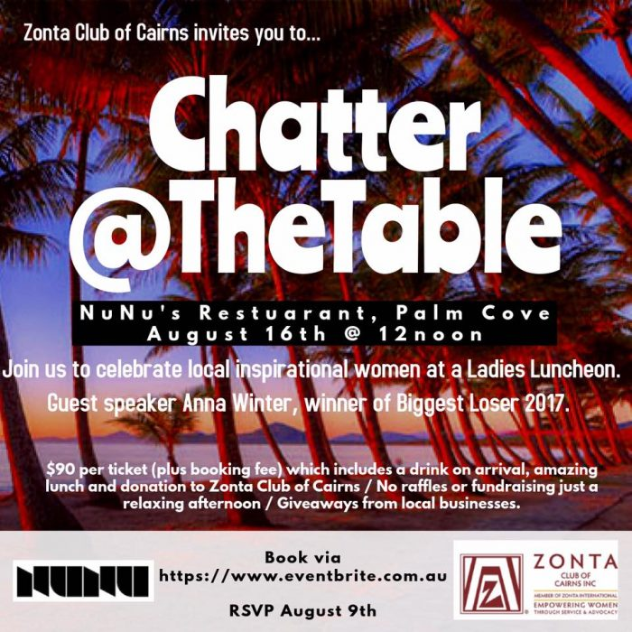 Chatter@The Table - Cairns @ Nu Nu's Restaurant