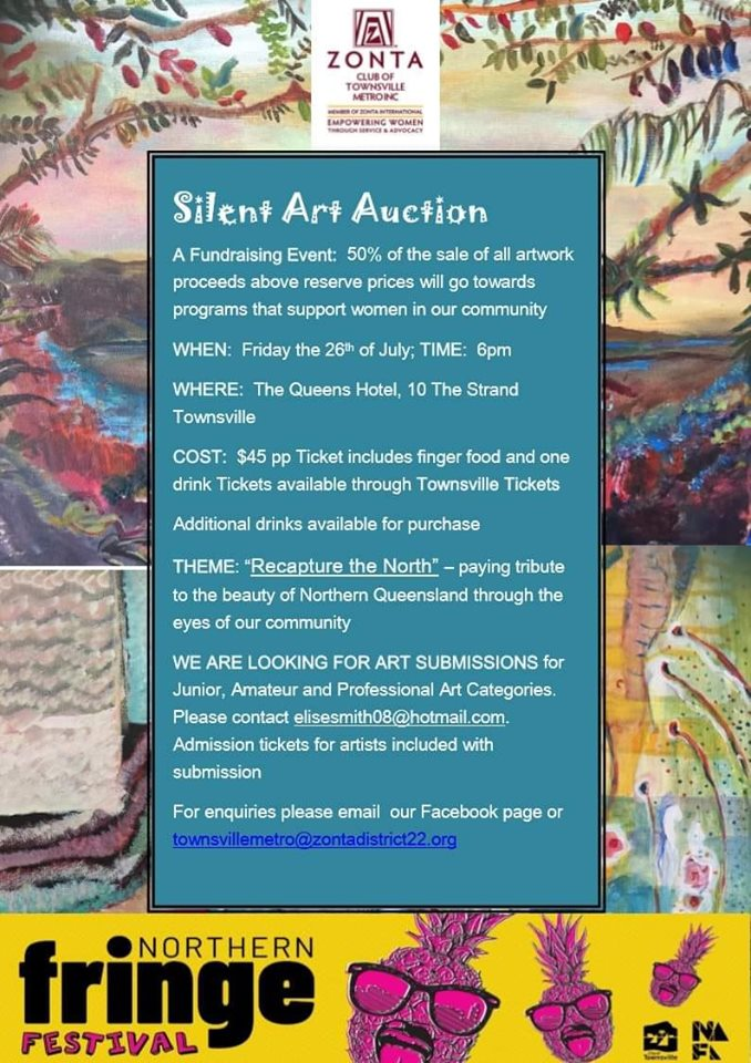 Silent Art Auction - Townsville @ The Queens Hotel | Townsville | Queensland | Australia