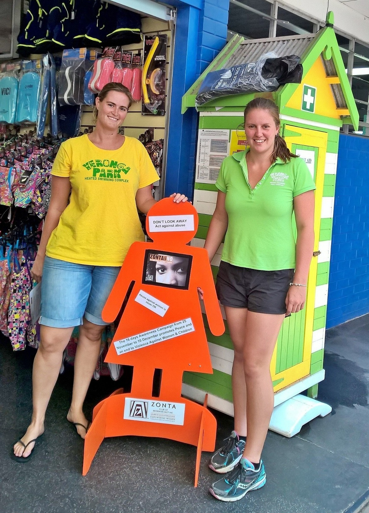 zonta international district 22 | » out and about spreading the word